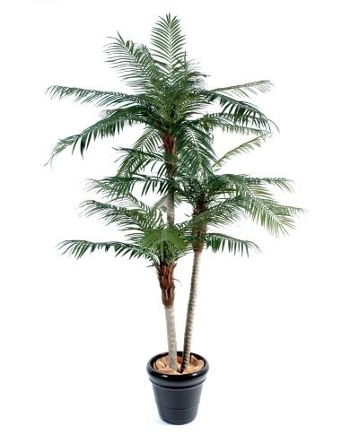 künstliche Phönix Palme 3-stämmig, ca. 225cm