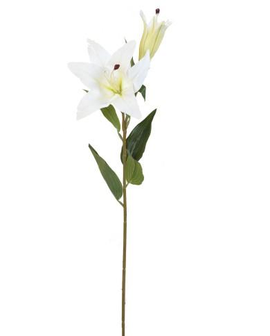 Künstliche Lilie weiss, ca. 73cm