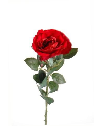 Künstliche Rose Joey rot, ca. 66cm