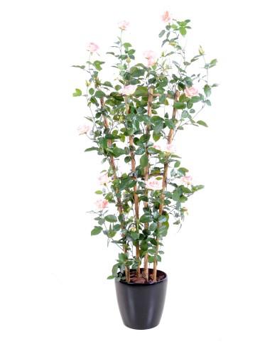 Künstlicher Rosenbaum weiss, ca. 160cm