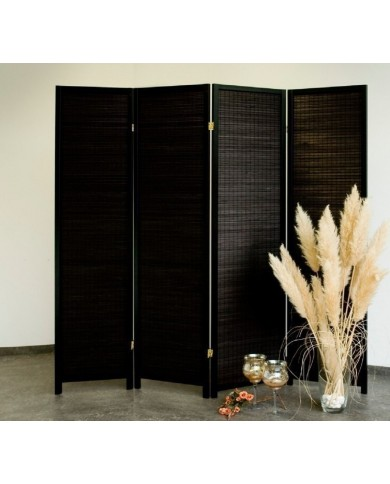 Paravent Black Wood 4 Trennwand, Paravents by Cilios®